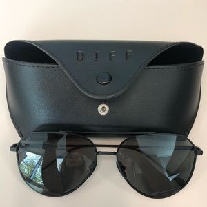 DIFF Aviator sunglasses! Never worn